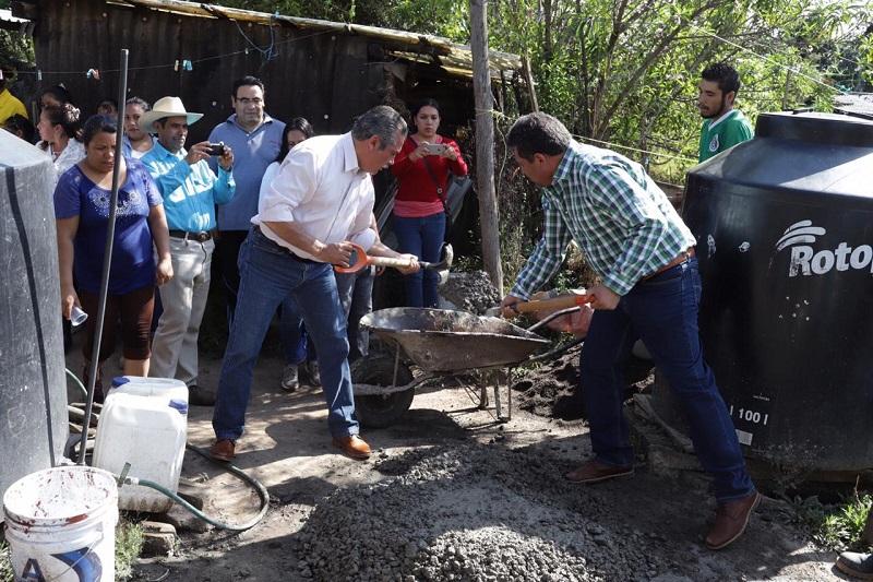 De la mano de la comunidad, la administración municipal trabajará para dignificar la localidad: Morón Orozco
