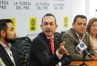 Soto Sánchez reconoció la entrega y amplia participación de los compañeros militantes y fundadores del sol azteca que alzaron su voz durante los Foros Deliberativos Regionales, desarrollados en Zamora, Uruapan y Morelia