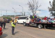 Ante el paso por tierras michoacanas de un contingente de migrantes centroamericanos, la Secretaría de Gobierno, a través de la Coordinación Estatal de Protección Civil, participa de manera activa en el operativo de atención a este grupo