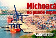 No sólo el puerto de Lázaro Cárdenas y Michoacán requieren del desarrollo económico y la atracción de inversiones; lo demanda el país, remarcó Paredes Andrade