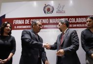 Ambas instituciones se verán beneficiadas, el alcalde, Raúl Morón reconoció las capacidades técnicas, sociales y económicas de la Universidad Michoacana