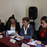 Teresa López, explicó que derivado de los trabajos del Primer Foro con la base trabajadora, se pactó la instalación de mesas de estudio para conocer no sólo las problemáticas a las que se enfrentan los empleados estatales, sino para plantear soluciones inmediatas y de largo alcance