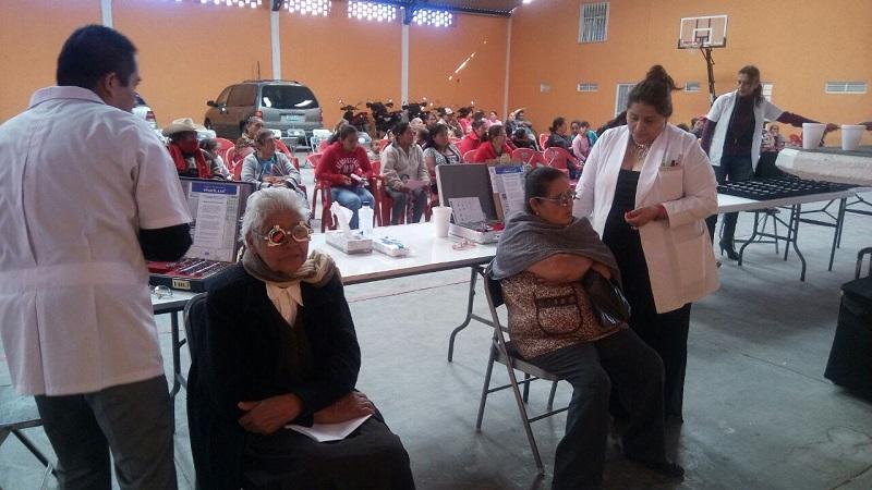 Las jornadas optométricas las realiza el Sistema DIF Michoacán de forma coordinada con los Sistemas DIF municipales, previo estudio socioeconómico a las personas que serán beneficiadas