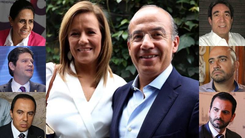 Los primeros en la lista serían los hermanos del ex presidente, es decir, Luisa María y Juan Luis