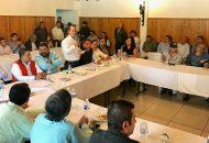 Pascual Sigala celebró el acuerdo alcanzado mediante la ruta del diálogo, y con el que continuarán las actividades del sistema producto, en beneficio de trabajadores, productores y de los propios consumidores