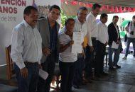 Fueron entregadas 153 escrituras a habitantes de la colonia Ampliación Antorcha de Tacámbaro