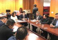 Ramírez Bedolla encabezó reuniones de trabajo con diputados federales