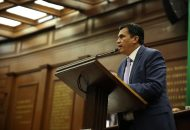 """""""Nicolás Maduro ha impuesto un régimen antidemocrático brutal en su país, el cual ha sido señalado en diversas ocasiones por organismos internacionales"""", acusó Estrada Cárdenas"""