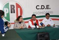 López García anunció que presentará ante el Congreso del Estado una serie de observaciones al gobierno de Morón Orozco para que sean analizadas