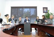 Por ello, a los responsables de SFA y Secoem, Carlos Maldonado Mendoza y Francisco Huergo Maurin, respectivamente, conminó a apretar el paso para que al cierre de 2018, el Gobierno del Estado tenga cubiertos todos sus compromisos financieros