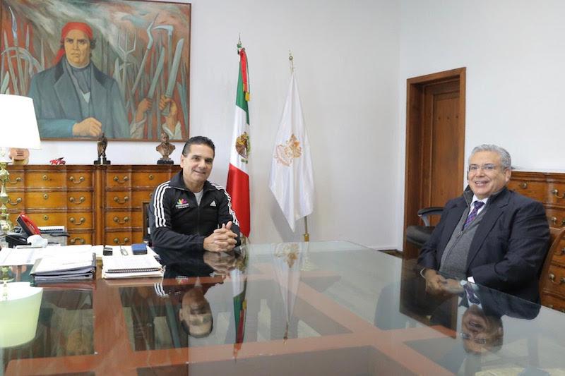 El mandatario estatal reiteró su disposición a agilizar todos los procedimientos en materia de obra, para concluir en tiempo y forma los juzgados orales penales y salas tradicionales en las regiones judiciales de Zamora y Lázaro Cárdenas