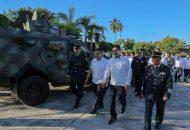 El titular del Ejecutivo Estatal, destacó el trabajo que han realizado las Fuerzas Armadas en Michoacán, ya que gracias a su apoyo, la entidad ha podido dar pasos importantes para la recuperación de la seguridad