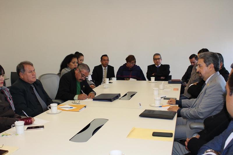 Durante la reunión de trabajo que se prolongó durante más de dos horas, se acordó retomar cuanto antes las mesas que coadyuven a atender los asuntos pendientes en la gestión UMSNH-SPUM