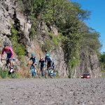 """Para la realización de la tercera etapa que lleva el nombre de """"Costera"""", se realizó un arrastre de 327 kilómetros hasta el Puerto de Lázaro Cárdenas"""