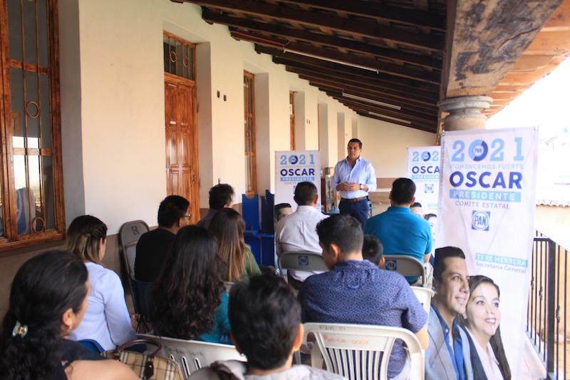 En Tacámbaro se instalará una Casa PAN, en la que los militantes podrán participar de manera activa, ofreció Óscar Escobar