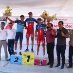 Luego de 4 horas, 35 minutos y 38 segundos, Óscar Eduardo Sánchez, de Canel's Specialized, se llevó el primer lugar de esta etapa