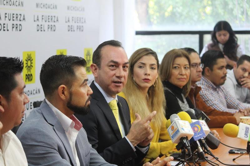 El perredismo michoacano asume la encomienda de consolidar su institucionalidad: Soto Sánchez