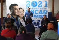 Al regresar a las bases del panismo, retomaremos la confianza de los ciudadanos, dijo Óscar Escobar Ledesma