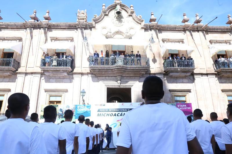 El gobernador Silvano Aureoles encabezó los eventos de este martes