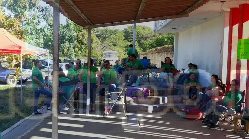 Una problemática de la cual ha padecido el Centro de Reinserción Social de Lázaro Cárdenas es el deterioro de las instalaciones, ya que por varios años ha dejado tener un presupuesto para el mismo fin de su mantenimiento