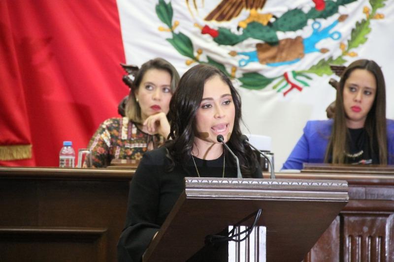 Tinoco Soto presentó una iniciativa que plantea reformas tanto a la Constitución Política del Estado, el Código Electoral del Estado, Ley por una Vida Libre de Violencia para las Mujeres en el Estado de Michoacán y Ley de Justicia en Materia Electoral y de Participación Ciudadana
