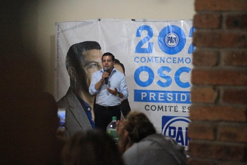 Óscar Escobar Ledesma asegura que posicionará al panismo para alcanzar más espacios públicos en 2021