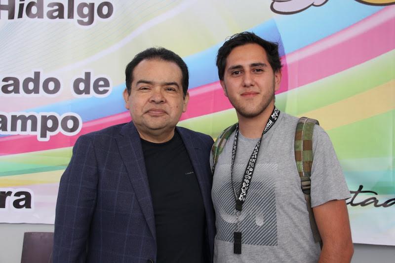 Los beneficiados fueron estudiantes de Ingeniería Mecatrónica del Instituto Tecnológico Superior de Ciudad Hidalgo que representará a Michoacán en una competencia nacional