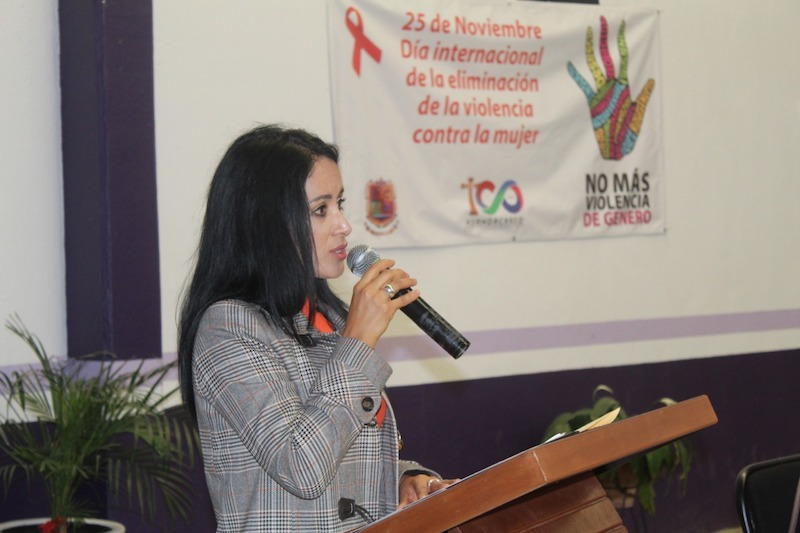 La violencia contra las mujeres es uno de los más fuertes flagelos que laceran a la sociedad, enfatizó en Huandacareo la diputada del Partido Verde