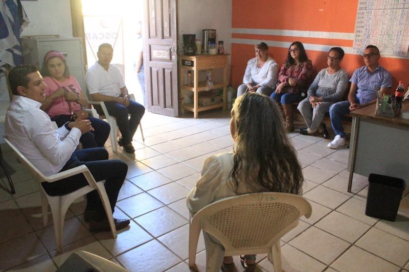 Desde la dirigencia estatal trabajaremos con humildad, generosidad y respeto a todos los militantes y michoacanos: Óscar Escobar Ledesma