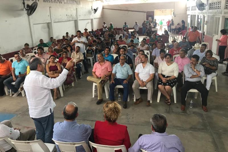 """Víctor Silva dijo que es momento de retomar los ideales y principios del PRI, pero sobre todo """"las causas ciudadanas que nos identifica"""""""
