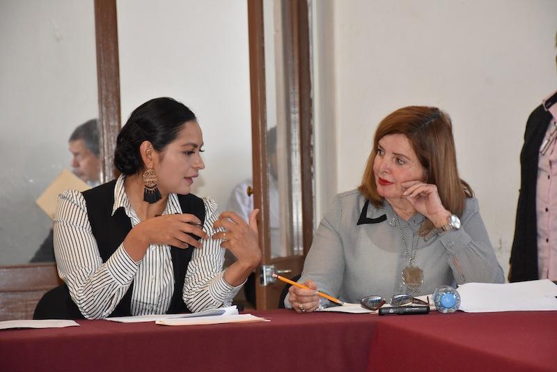 Durante la reunión de trabajo, las diputadas Araceli Saucedo y Sandra Luz Valencia, presidente e integrante de la Comisión, coincidieron en la necesidad de contar con un marco legal actualizado desde una perspectiva inclusiva y abierta y, sobre todo, sustentable