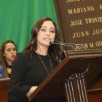 La legisladora refrendó el compromiso de las y los diputados del PRD de abonar, desde su trinchera, a que las leyes y políticas públicas tiendan a mejorar las condiciones de vida de este sector, así como fomentar su participación