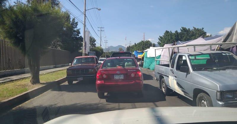 Avenidas como la Pedregal o la Michoacán, la Calzada Arnulfo Ávila, la calle Raza Maya y las márgenes del Río Grande a la altura de la colonia Prados Verdes, se han convertido en un caos vehicular y un foco de infección
