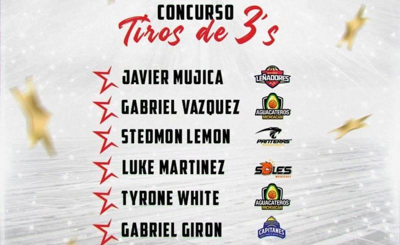 El Juego de Estrellas se realizará en Morelia, Michoacán, el 8 y 9 de diciembre próximos