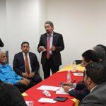 El rector nicolaita habló sobre la importancia de la educación superior para Michoacán y para México, por lo que desde el Poder Legislativo se deben ejecutar acciones que conduzcan al fortalecimiento de ese sector