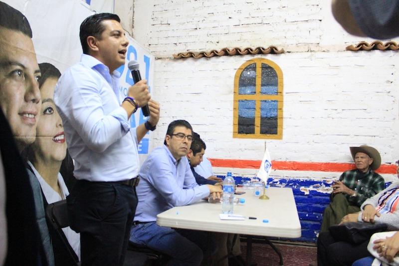 Al llegar a encabezar al instituto político, el trabajo se basará en seis ejes fundamentales, afirmó ÓScar Escobar Ledesma