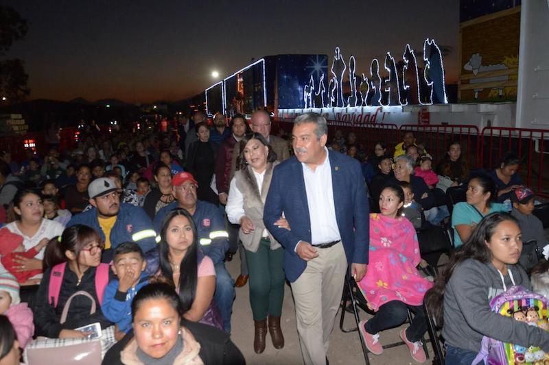 Morón Orozco destacó que este acercamiento a la empresa ferroviaria que transita por el municipio ayuda a socializar la labor del tren de KCSM con la cual se trabaja de manera coordinada