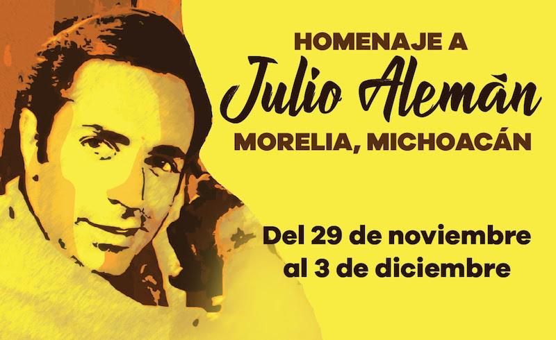 Julio Méndez Alemán, nació en la capital michoacana el 29 de noviembre de 1933; sin embargo, a pocos meses de su nacimiento su familia se mudó a la Ciudad de México