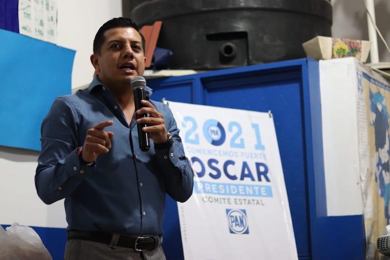 Reconocen militantes y simpatizantes a Óscar Escobar Ledesma como la mejor opción para liderar el Partido Acción Nacional en Michoacán