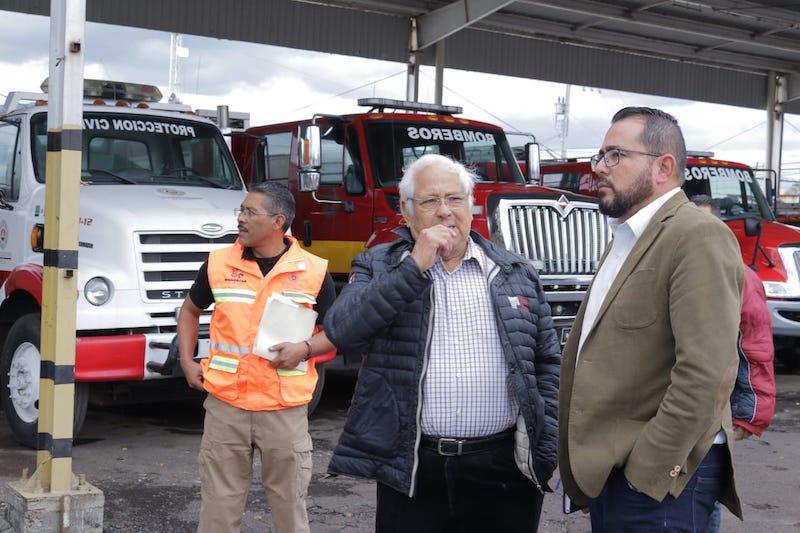 Carlos Mandujano destacó algunas acciones prioritarias para resolver en esta administración, como un anteproyecto para fortalecer el parque vehicular, entre otras áreas