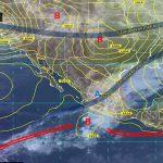 De acuerdo a las previsiones del Sistema Meteorológico Nacional, las lluvias continuarán durante las próximas horas en la mayor parte de la geografía estatal