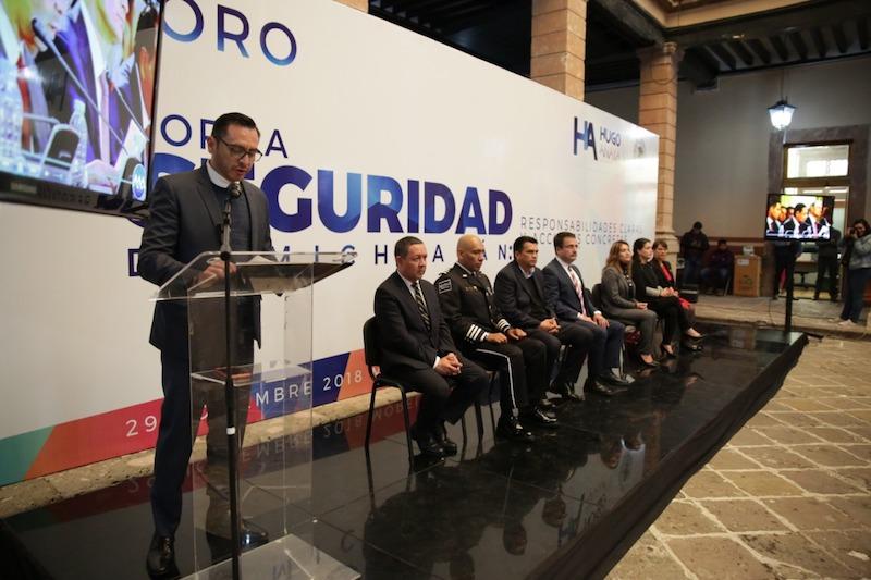 Hugo Anaya reiteró que es necesario que el tema de seguridad en el estado se analice desde un punto de vista técnico y no político, a fin de que construir un esquema que impacte de forma positiva a los michoacanos