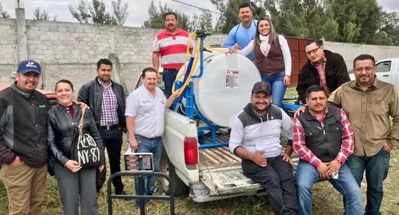 Con estos equipos se mecaniza y moderniza al sector rural del municipio de Tarímbaro