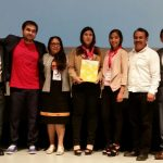 Durante la ceremonia de clausura del encuentro científico infantil y juvenil más grande de México, que por primera vez se llevó a cabo en Michoacán, en un marco festivo y entusiasta, fueron galardonados los proyectos