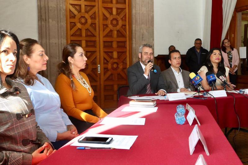 José Antonio Salas puntualizó que, por iniciativa del legislador de Morena Alfredo Ramírez Bedolla, el Congreso del Estado aprobó la creación de esta Comisión Especial