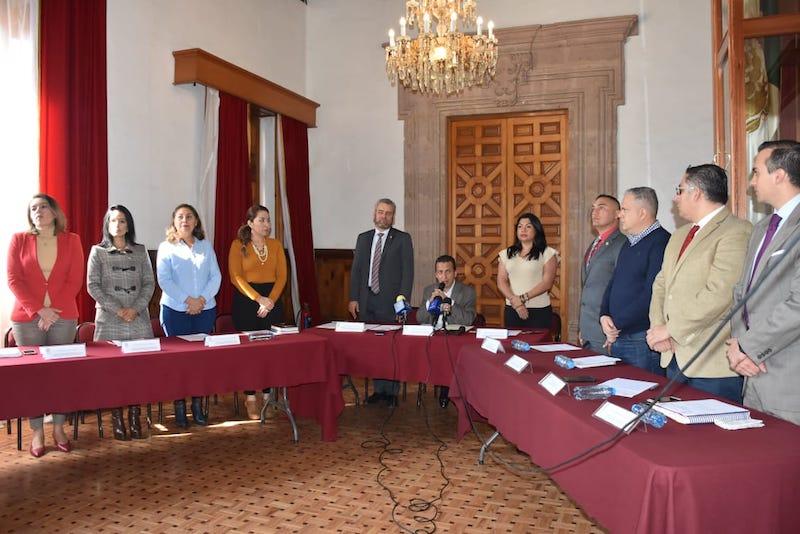 Salas Valencia destacó la participación de los diputados para integrar la Comisión que le permitan dar seguimiento a los trabajo y con ello fortalecer las acciones de salud en beneficio de los mexicanos