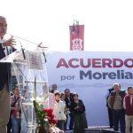 Lo que se busca con este Acuerdo es que se trabaje en conjunto para contribuir desde diferentes frentes de la población para resolver los problemas del municipio: Morón Orozco