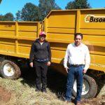 Con los equipos entregados, se mecaniza y moderniza al sector rural de municipios como Erongarícuaro, Huiramba, Lagunillas, Pátzcuaro, Quiroga, Salvador Escalante y Tzintzuntzan