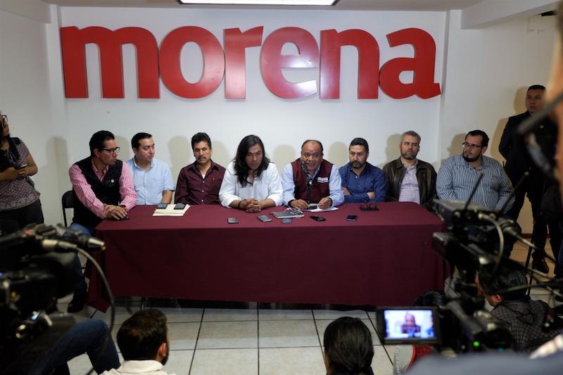 """Salvador Tapia señaló existe coincidencia ideológica con nuestro partido y expresó su deseo de ser parte de esta transformación, """"es algo que le hace falta a los municipios, al estado y a la nación, lo hago de manera libre y consciente"""
