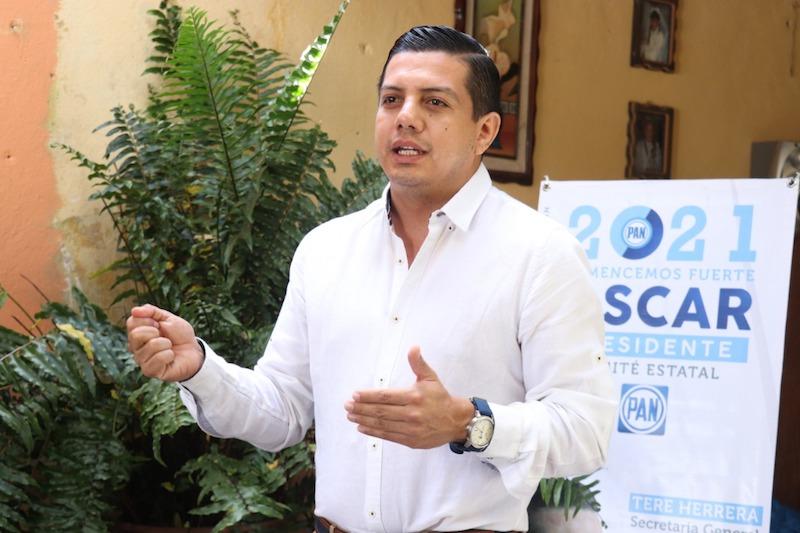 Al recorrer más de 70 municipios en 22 días de campaña, se escuchó a 4 mil panistas para integrar sus propuestas en el proyecto de la nueva dirigencia: Óscar Escobar Ledesma